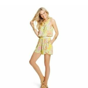 Lilly Pulitzer For Target Happy Place Challis Romp